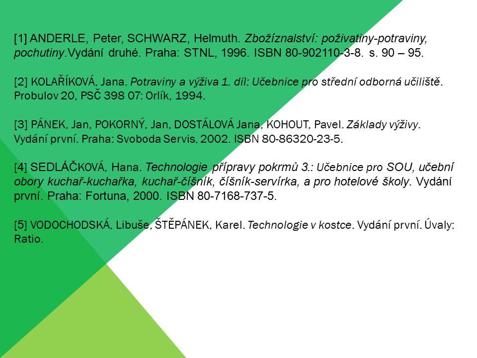 [1] ANDERLE, Peter, SCHWARZ, Helmuth